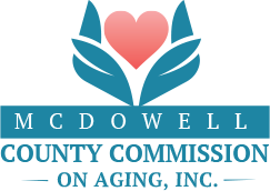 McDowell County Commission on Aging Small Logo